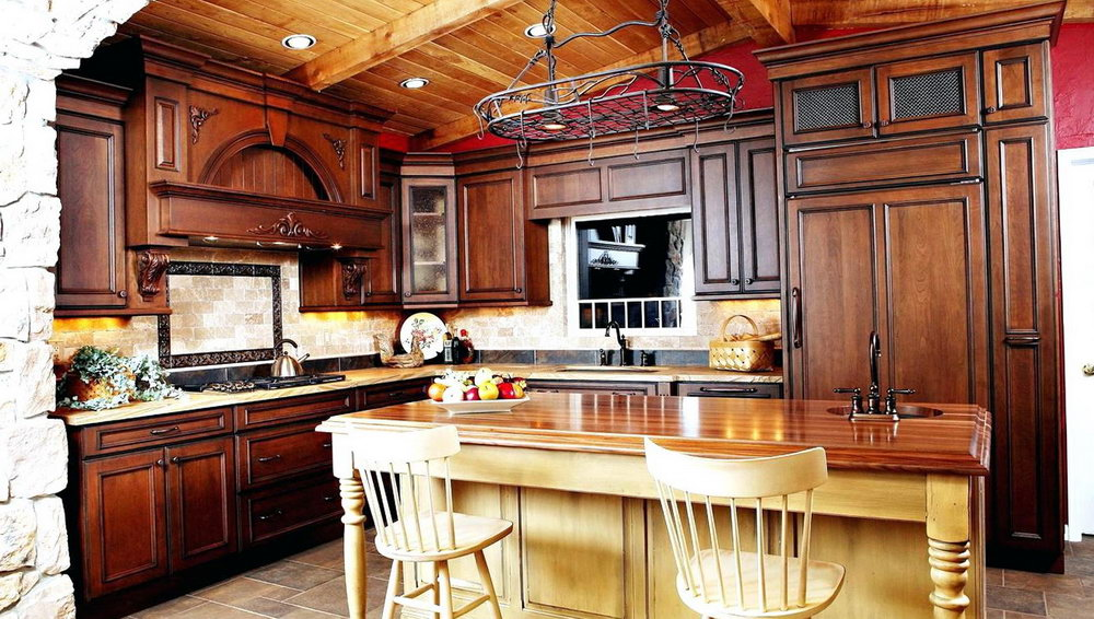 Rustic Kitchen Cabinet Images