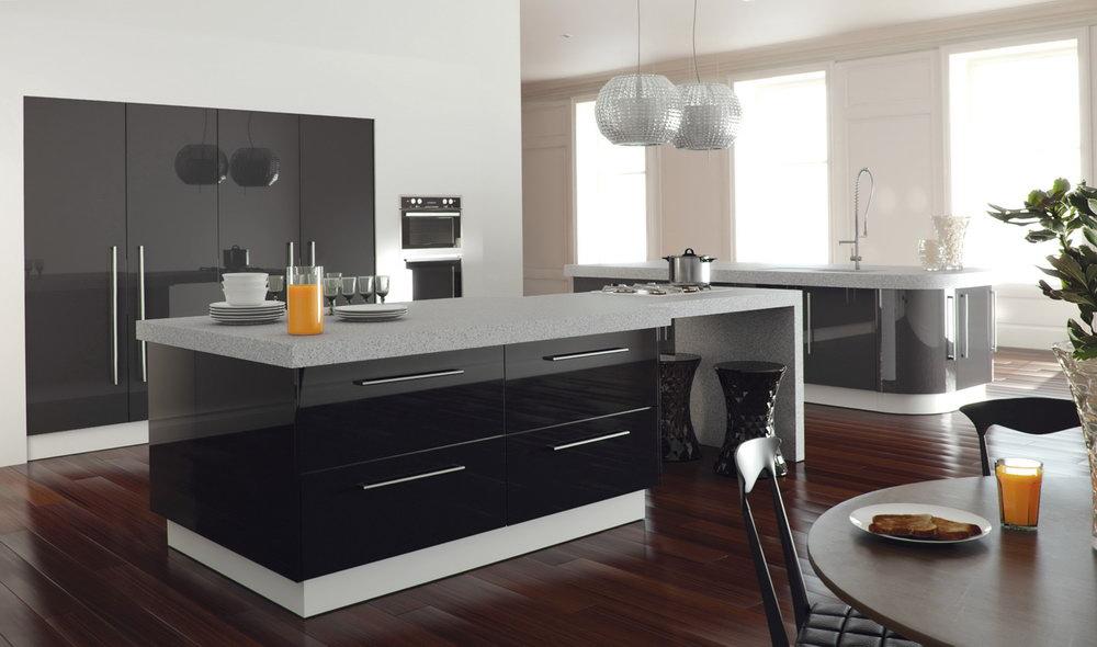 Silver Grey Kitchen Cabinets