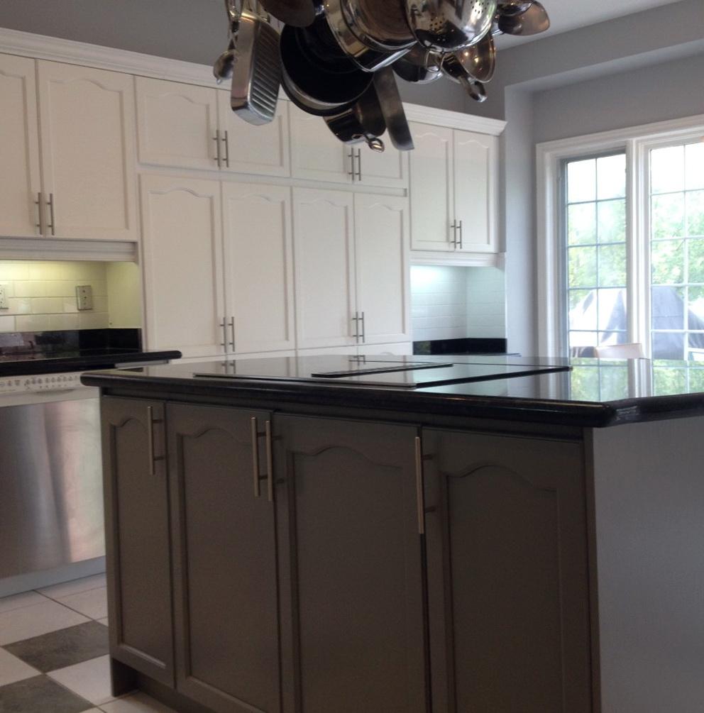 Spraying Kitchen Cabinets With Hvlp