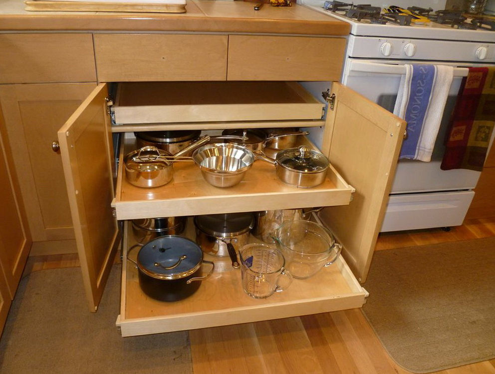 Under Kitchen Cabinet Storage Solutions