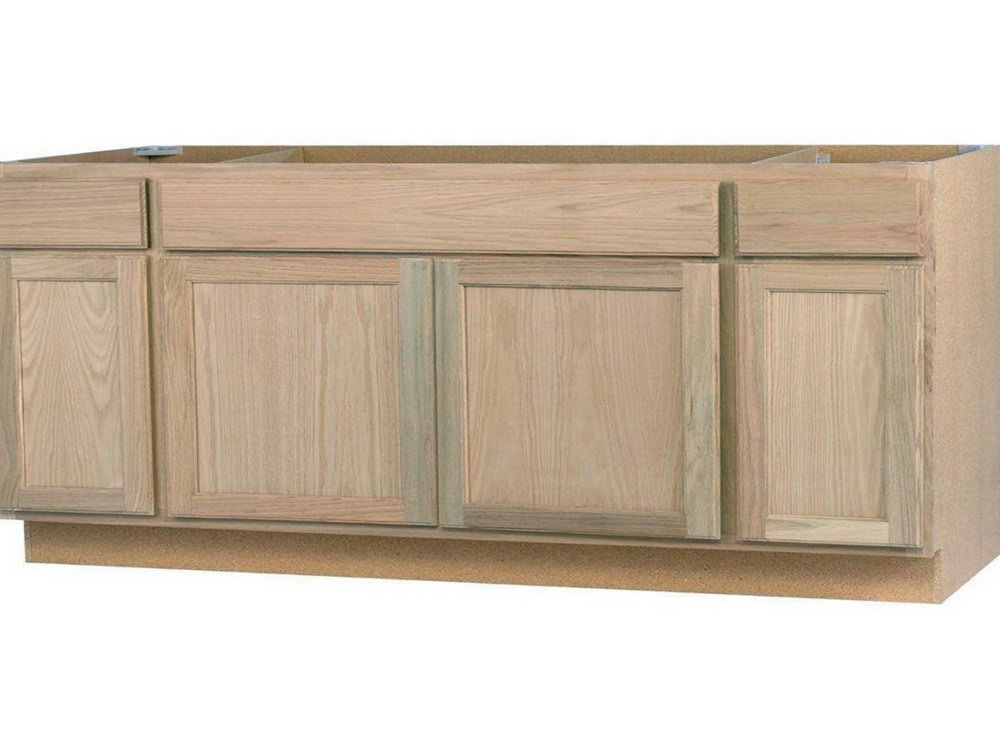 Unfinished Base Kitchen Cabinets With Drawers