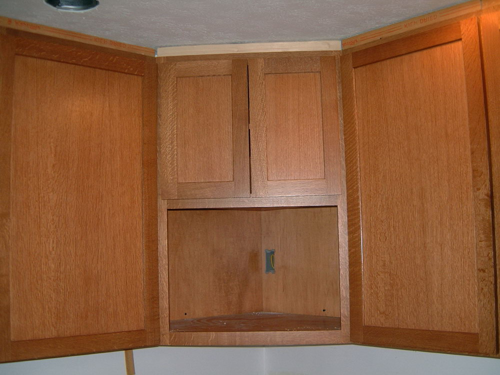 Upper Corner Kitchen Cabinet Options