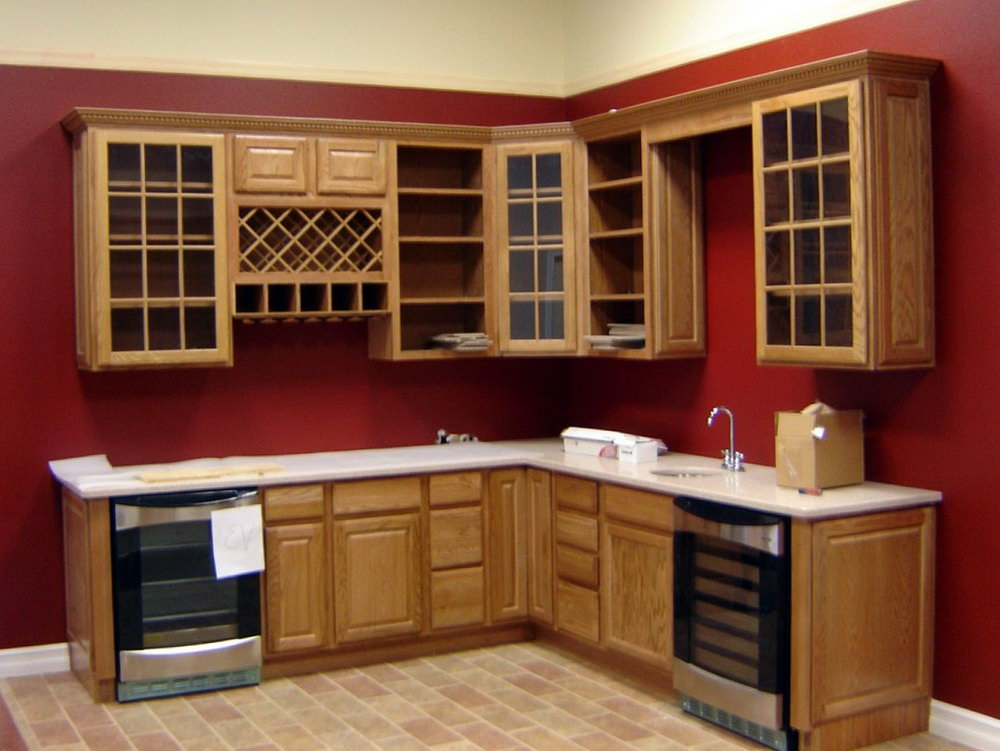 Upper Corner Kitchen Cabinet Plans