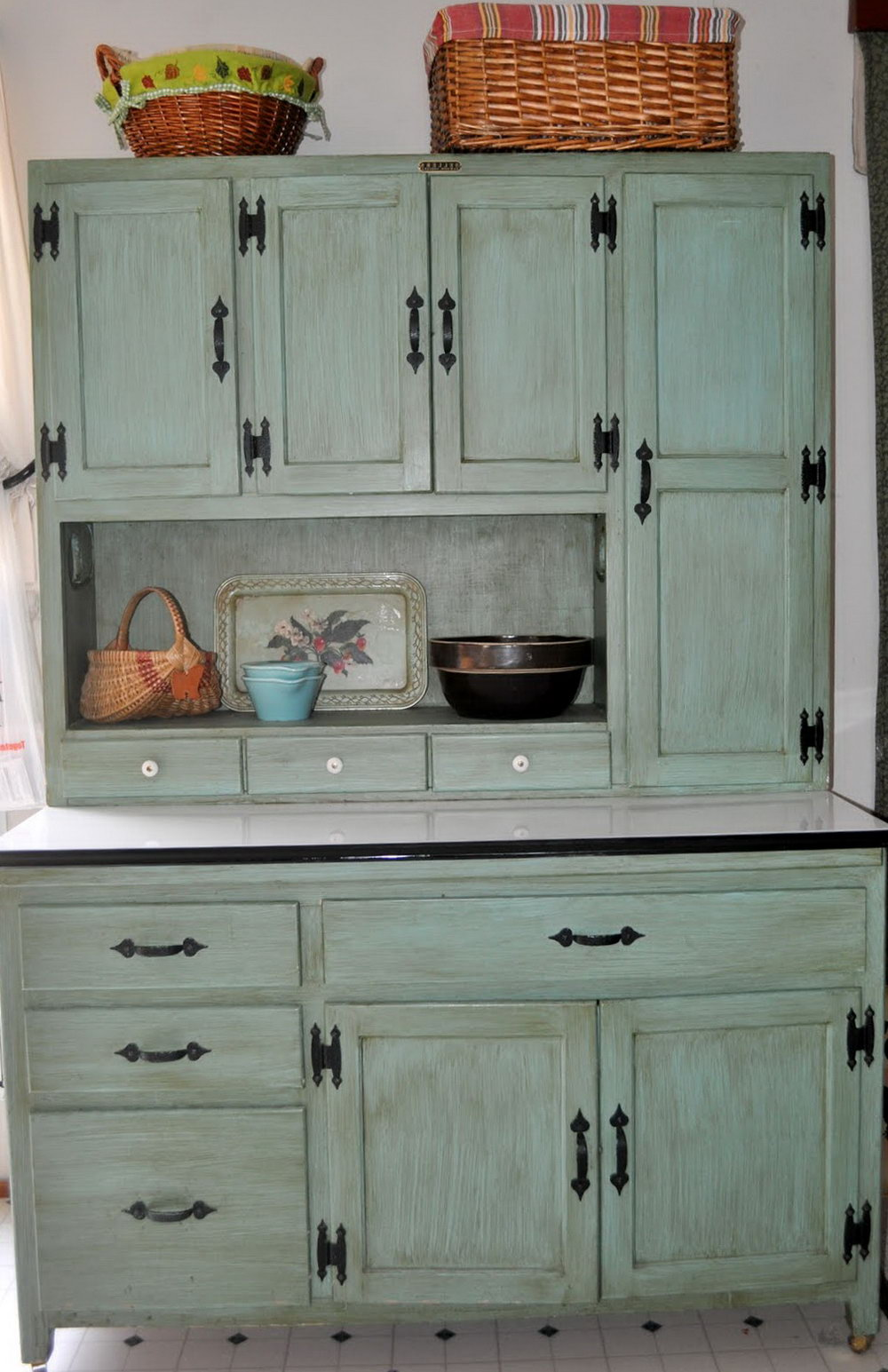 Vintage Kitchen Cabinet Colors