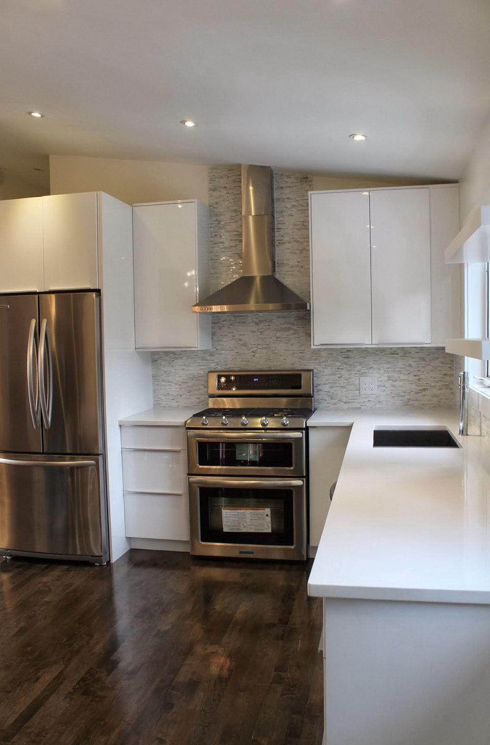 White Lacquer Kitchen Cabinets Ikea