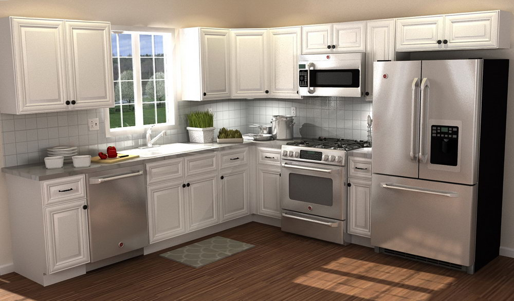 10 By 10 Kitchen Cabinets Cost
