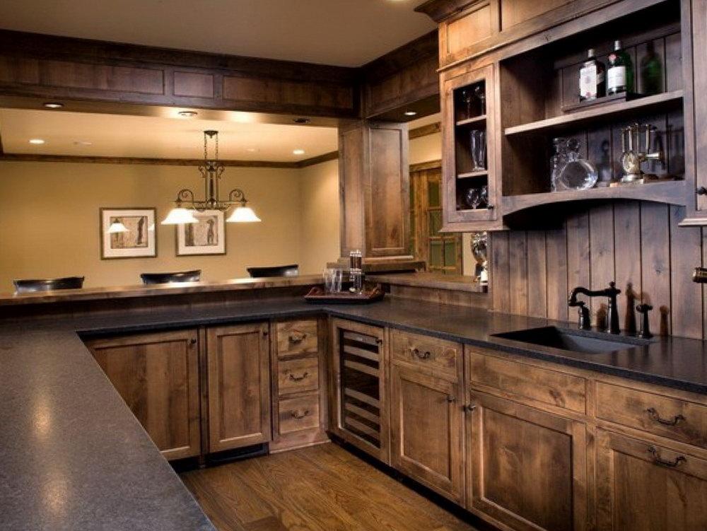 Alder Wood Kitchen Cabinets Pictures