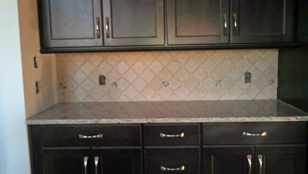 Backsplash For Kitchen With Dark Cabinets