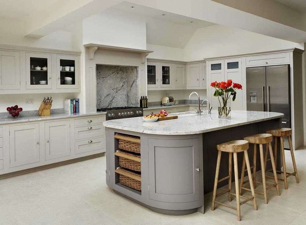 Benjamin Moore Chelsea Gray Kitchen Cabinets