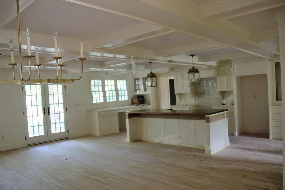Benjamin Moore Fieldstone Kitchen Cabinets