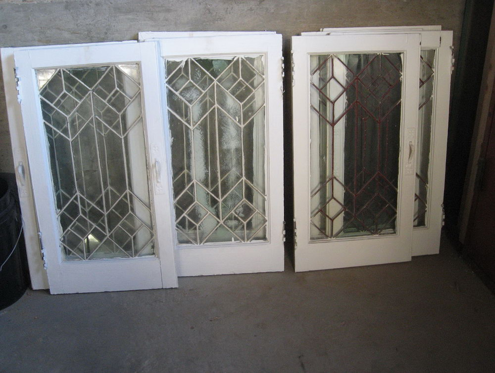 Beveled Glass Kitchen Cabinet Doors