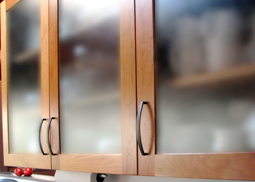 Changing Kitchen Cabinet Doors To Glass