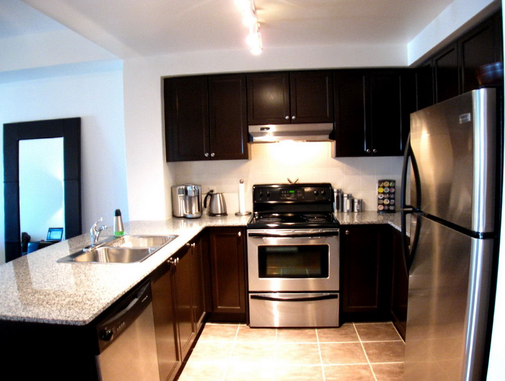Condo Kitchen Cabinets Design