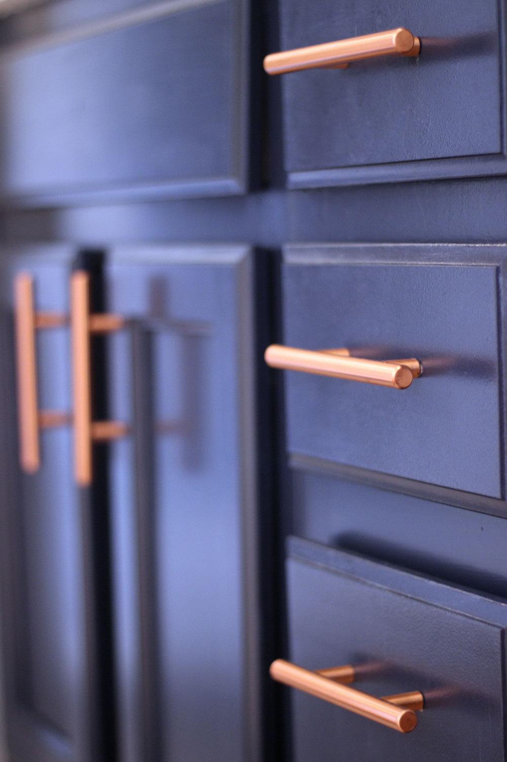 Copper Kitchen Cabinet Hardware Pulls
