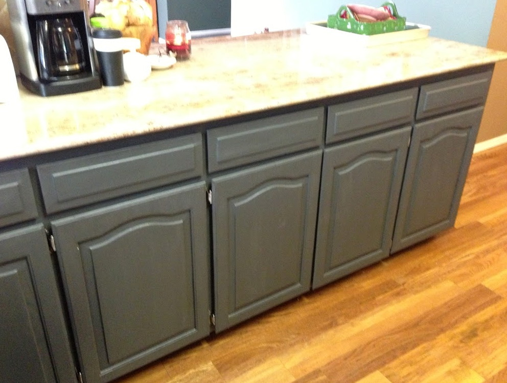 Crackle Paint On Kitchen Cabinets