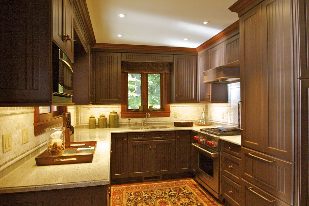 Dark Brown Kitchen Cabinet Ideas
