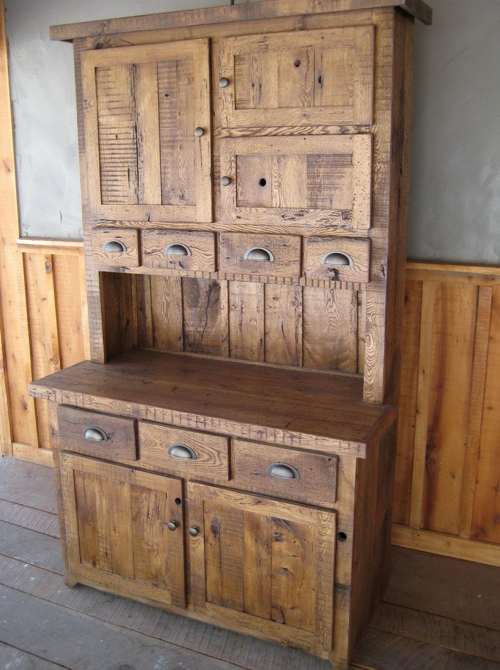 English Chestnut Kitchen Cabinets