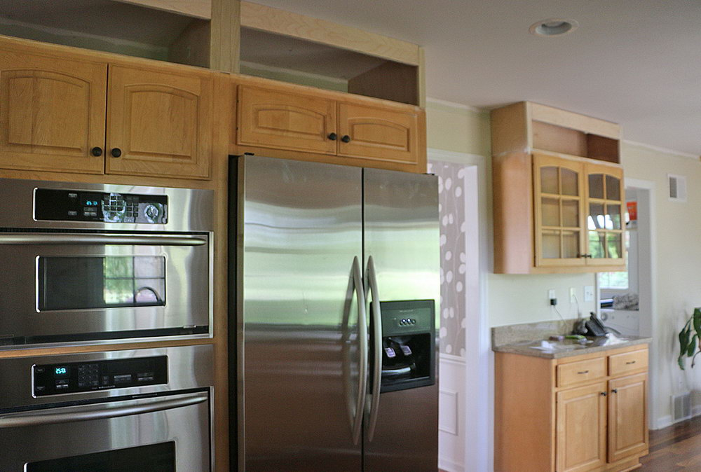 Extend Kitchen Cabinets To Ceiling