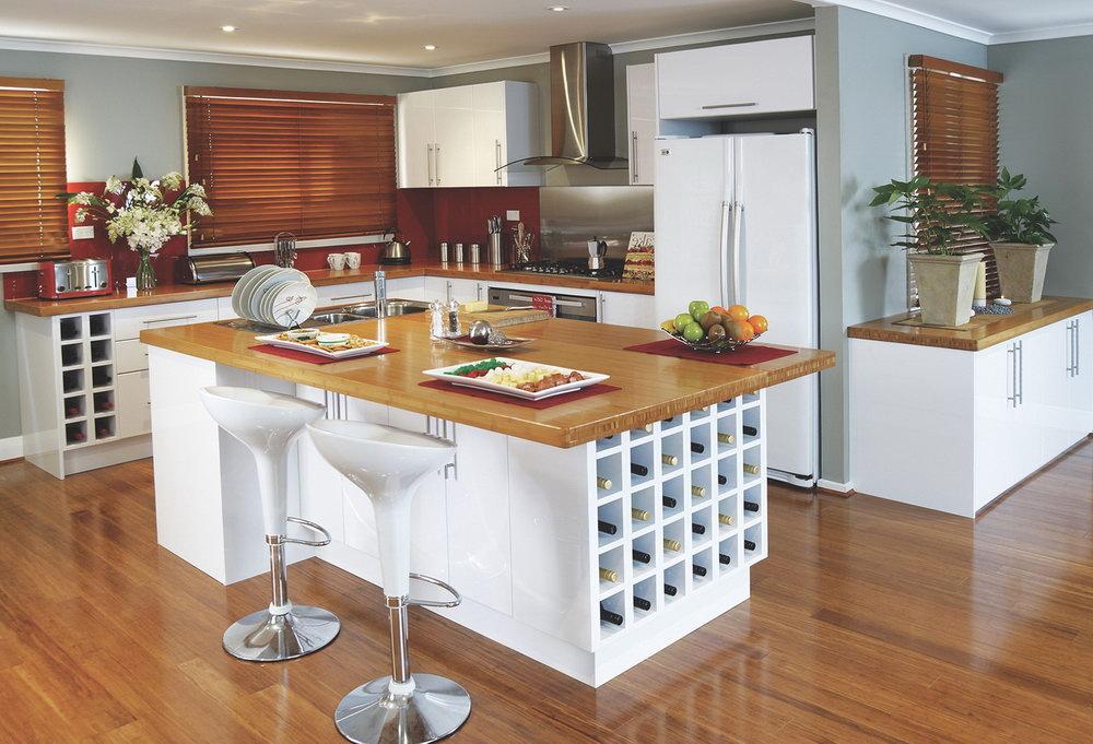 Flat Pack Kitchen Cabinets China