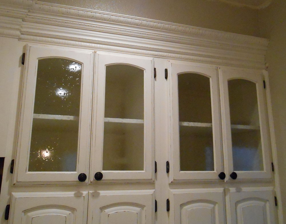 Glass Cabinet Doors Kitchen