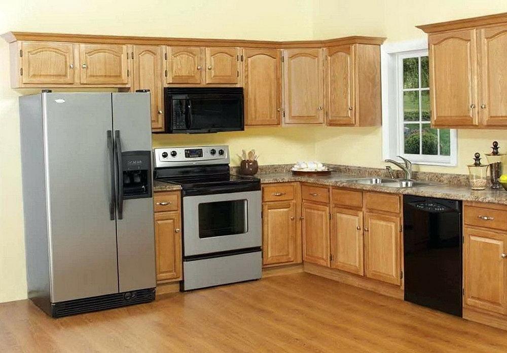 Golden Oak Kitchen Cabinets For Sale