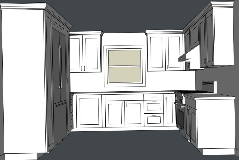 How To Design Kitchen Cabinets In Sketchup