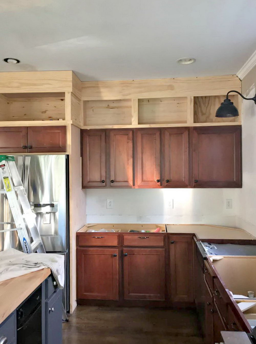 How To Finish Kitchen Cabinets To The Ceiling