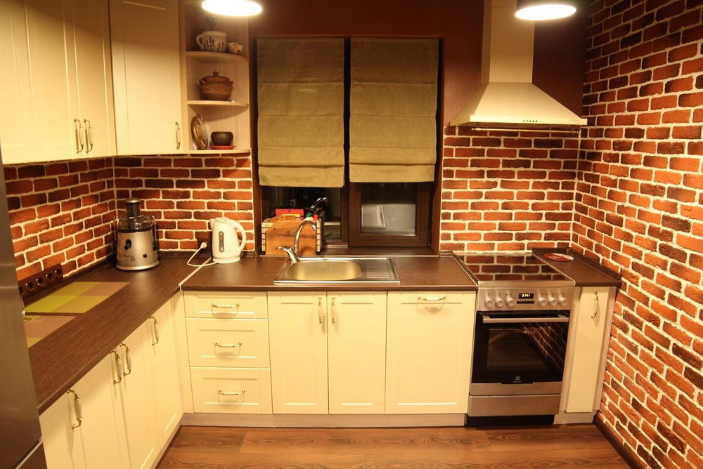 How To Fix Kitchen Cabinets To Brick Wall