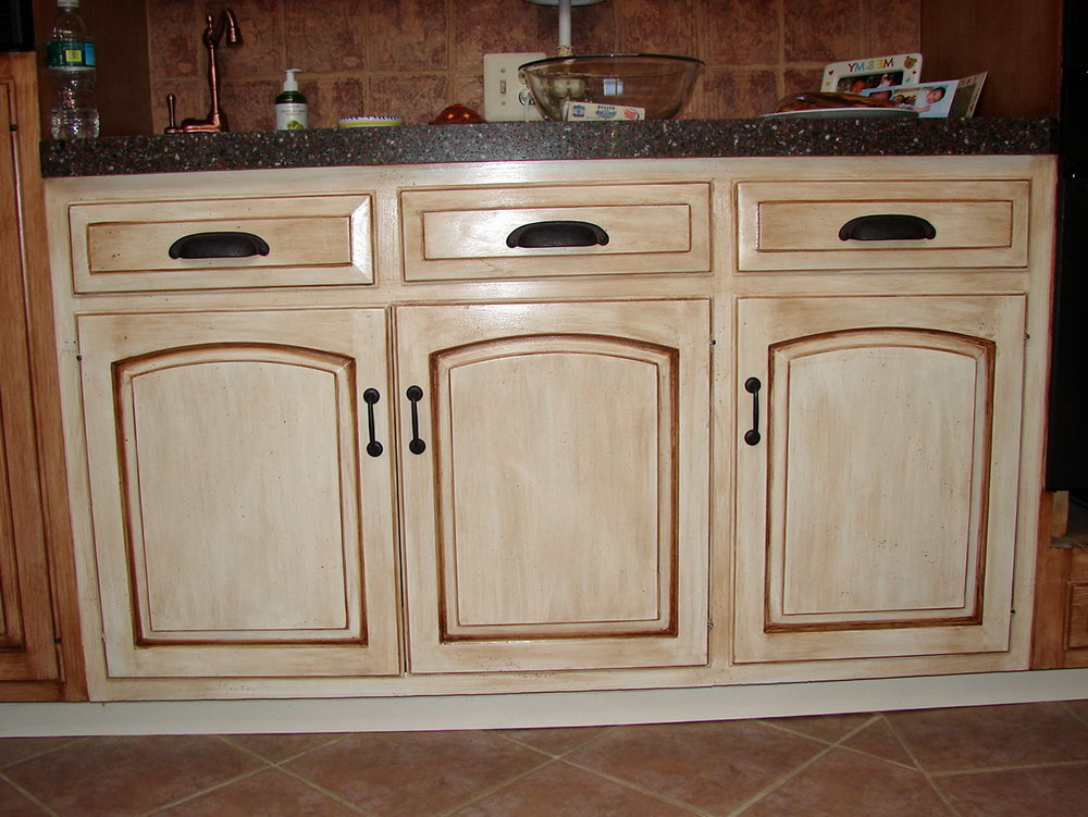 How To Paint Wood Kitchen Cabinets Without Sanding