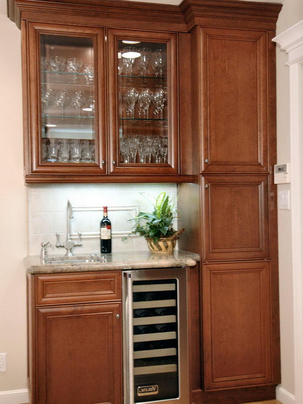 Kitchen Bar Cabinet Ideas