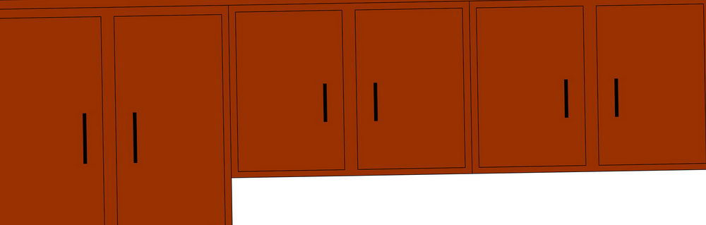 Kitchen Cabinet Cartoon