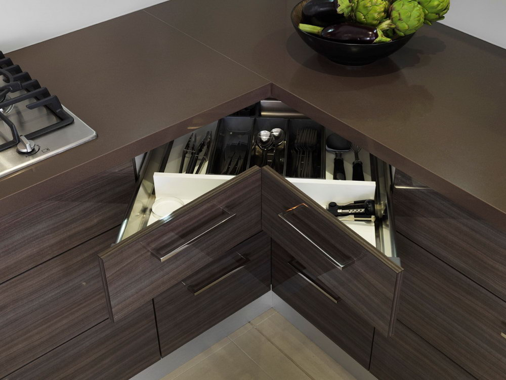 Kitchen Cabinet Corner Drawers