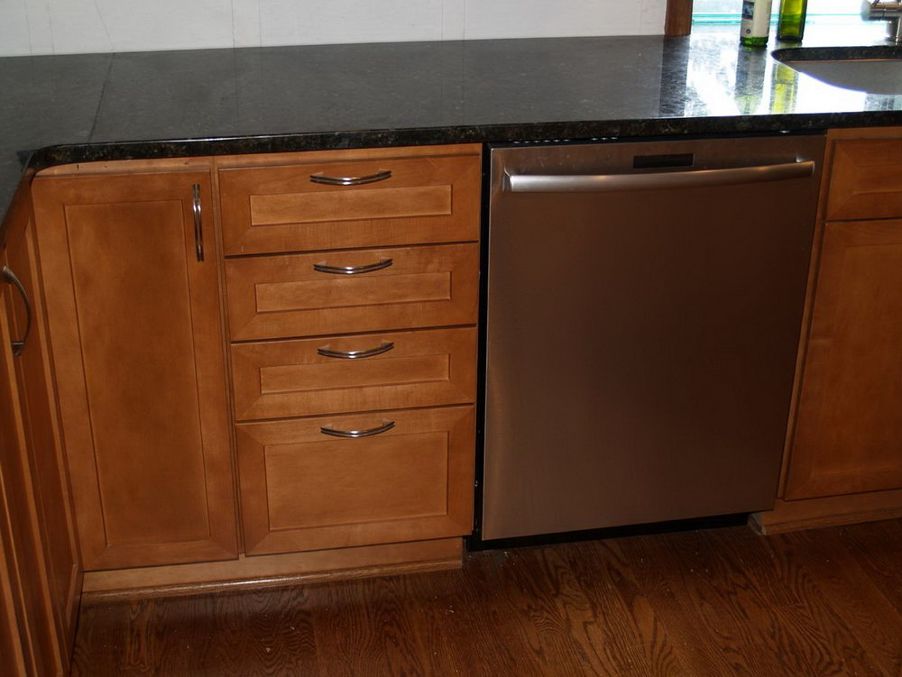 Kitchen Cabinet Dishwasher End Panel