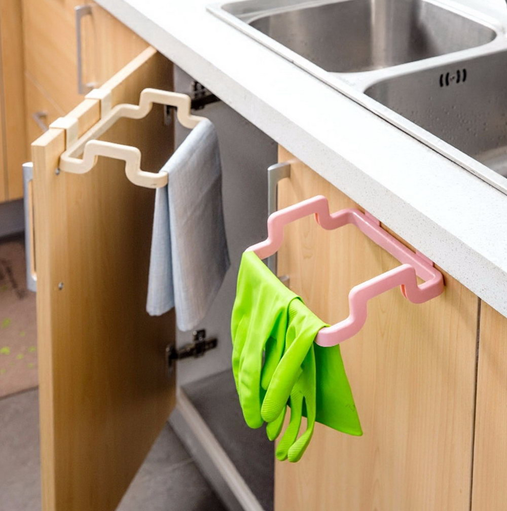 Kitchen Cabinet Garbage Bag Rack