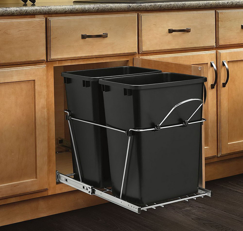 Kitchen Cabinet Garbage Cans