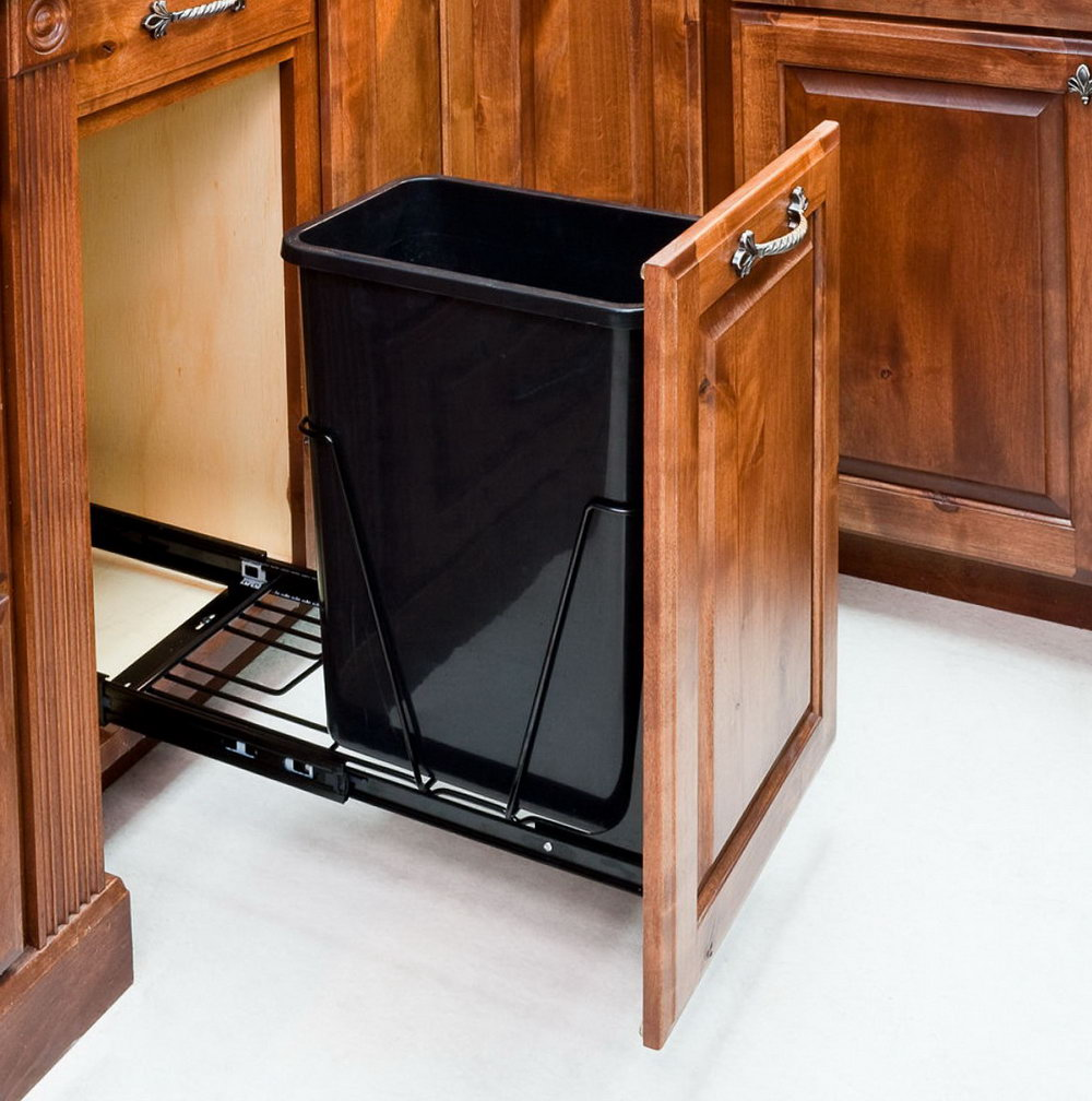 Kitchen Cabinet Garbage Pull Out