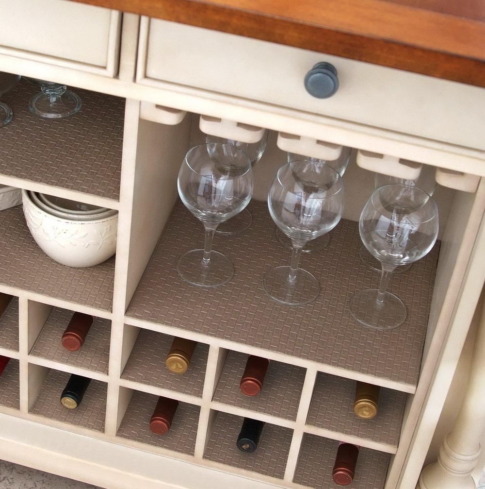 Kitchen Cabinet Shelf Liner Ideas