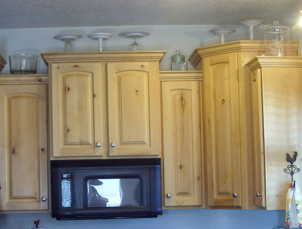 Kitchen Cabinet Tops Ideas