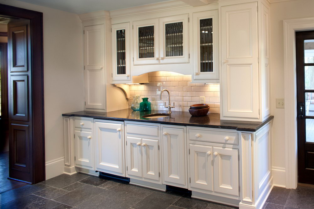 Kitchen Cabinet With Bar Counter