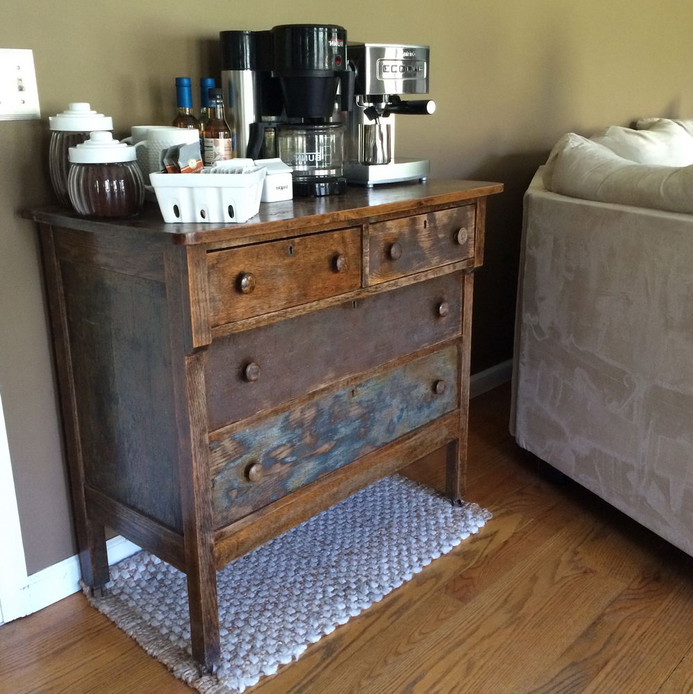 Kitchen Cabinet With Mini Bar