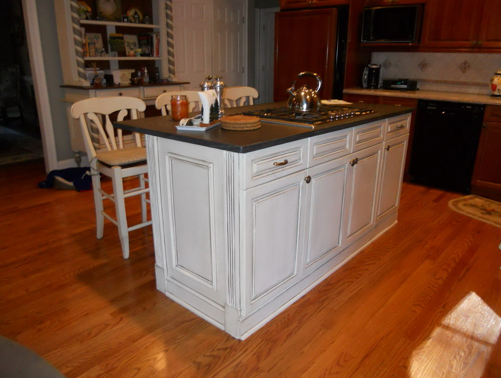 Kitchen Cabinets And Islands For Sale