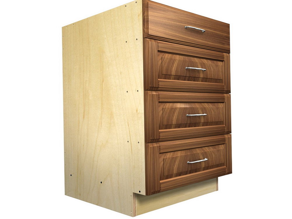 Kitchen Cabinets Base Drawers