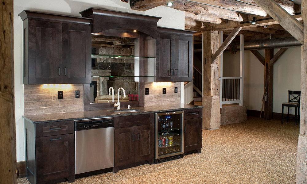 Kitchen Cabinets Basement