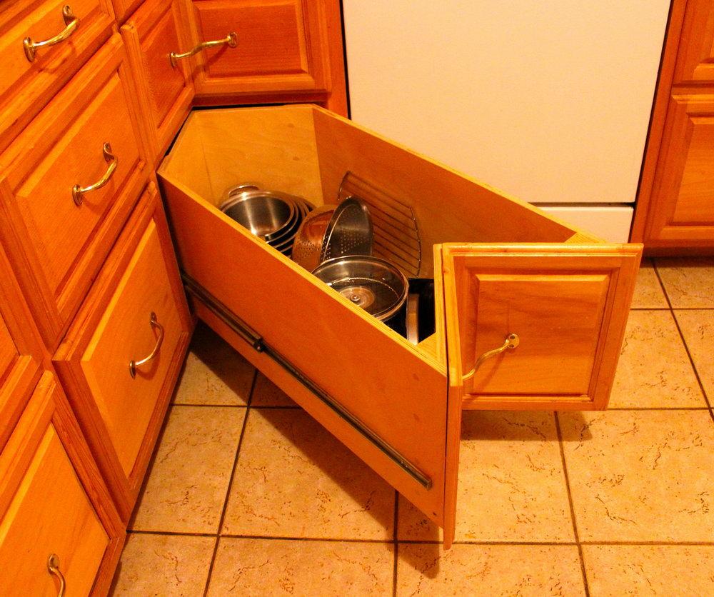 Kitchen Cabinets Corner Design