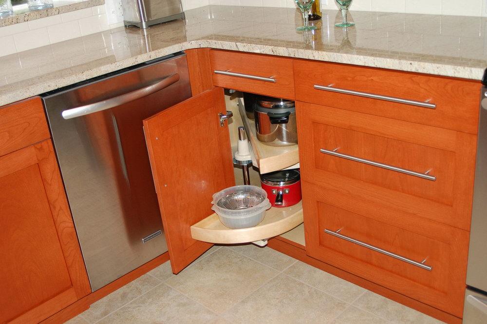 Kitchen Cabinets Corner Shelf