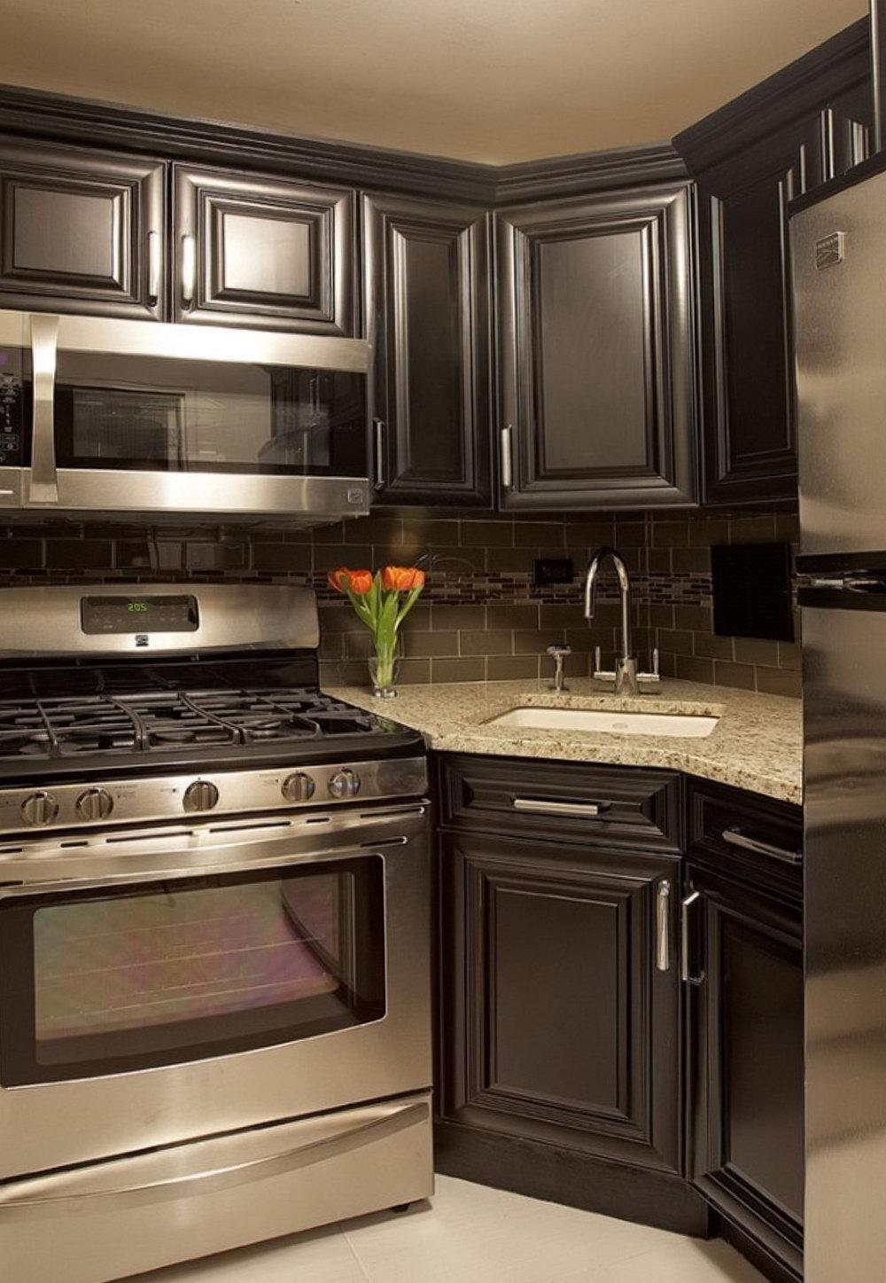 Kitchen Cabinets Corner Sink