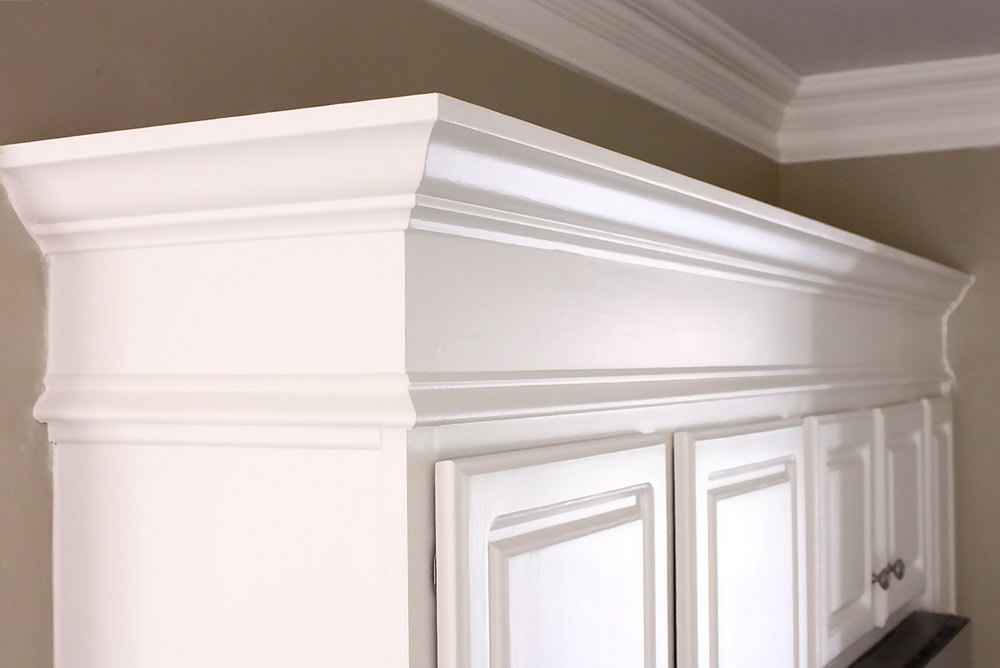 Kitchen Cabinets Molding Ideas
