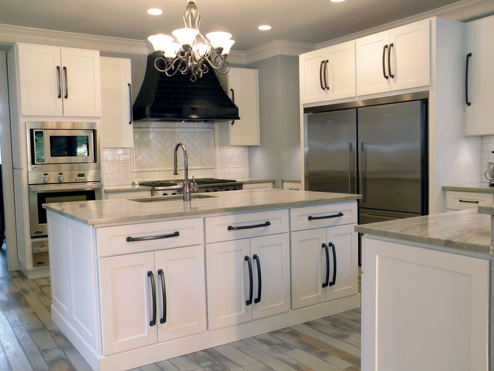 Kitchen Cabinets Shaker Style White