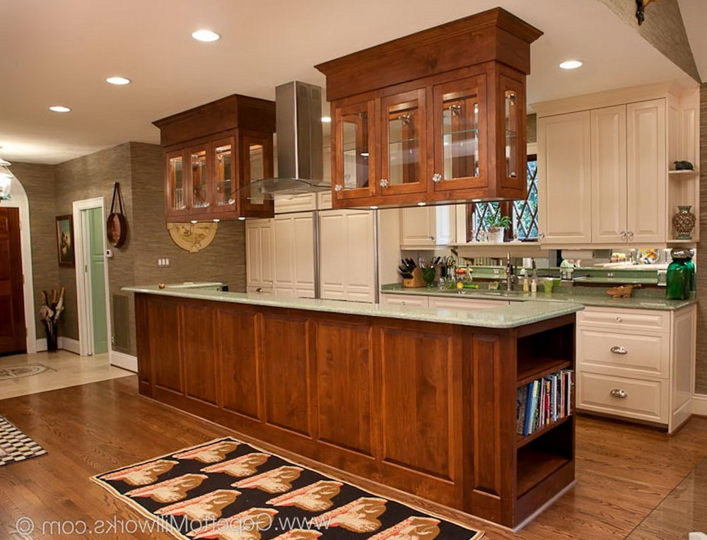 Kitchen Hanging Cabinet Designs
