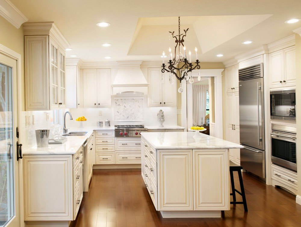 Kitchen Hood Wood Cabinet